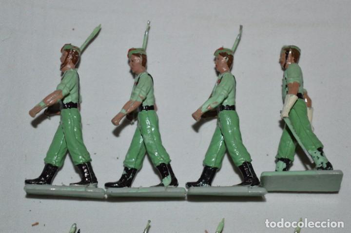 Figuras de Goma y PVC: LA LEGION - Antiguo/vintage - 9 Soldados desfilando - REAMSA y GOMARSA - ¡Mira fotos! - Foto 9 - 230052005
