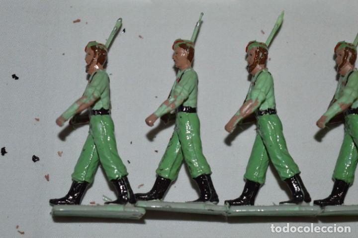 Figuras de Goma y PVC: LA LEGION - Antiguo/vintage - 9 Soldados desfilando - REAMSA y GOMARSA - ¡Mira fotos! - Foto 14 - 230052005