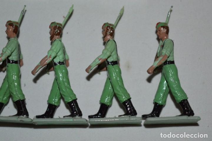 Figuras de Goma y PVC: LA LEGION - Antiguo/vintage - 9 Soldados desfilando - REAMSA y GOMARSA - ¡Mira fotos! - Foto 19 - 230052005