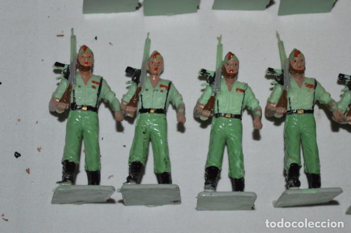 Figuras de Goma y PVC: LA LEGION - Antiguo/vintage - 9 Soldados desfilando - REAMSA y GOMARSA - ¡Mira fotos! - Foto 15 - 230052005