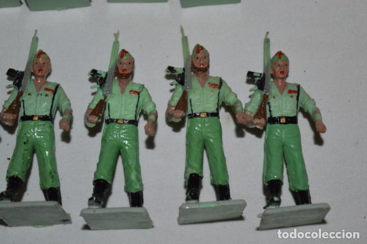 Figuras de Goma y PVC: LA LEGION - Antiguo/vintage - 9 Soldados desfilando - REAMSA y GOMARSA - ¡Mira fotos! - Foto 20 - 230052005