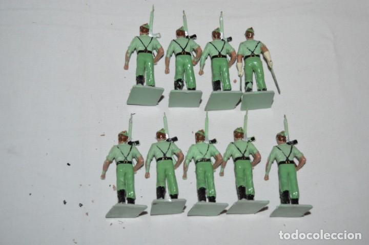Figuras de Goma y PVC: LA LEGION - Antiguo/vintage - 9 Soldados desfilando - REAMSA y GOMARSA - ¡Mira fotos! - Foto 6 - 230052005