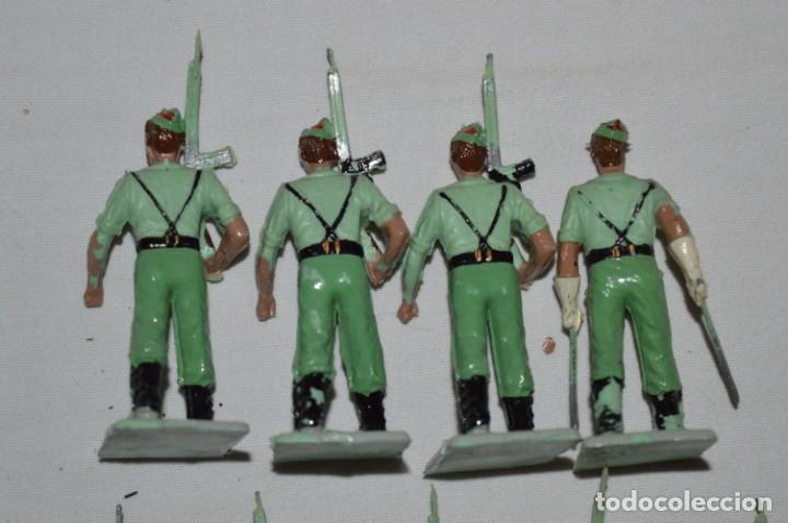 Figuras de Goma y PVC: LA LEGION - Antiguo/vintage - 9 Soldados desfilando - REAMSA y GOMARSA - ¡Mira fotos! - Foto 11 - 230052005