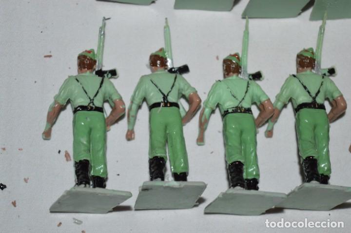 Figuras de Goma y PVC: LA LEGION - Antiguo/vintage - 9 Soldados desfilando - REAMSA y GOMARSA - ¡Mira fotos! - Foto 16 - 230052005