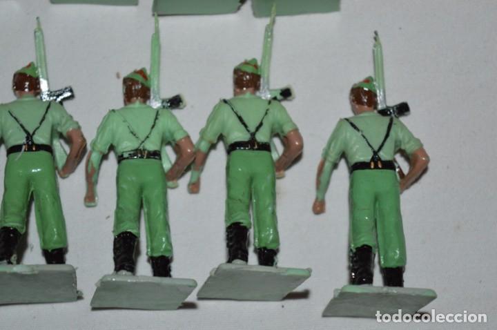 Figuras de Goma y PVC: LA LEGION - Antiguo/vintage - 9 Soldados desfilando - REAMSA y GOMARSA - ¡Mira fotos! - Foto 21 - 230052005