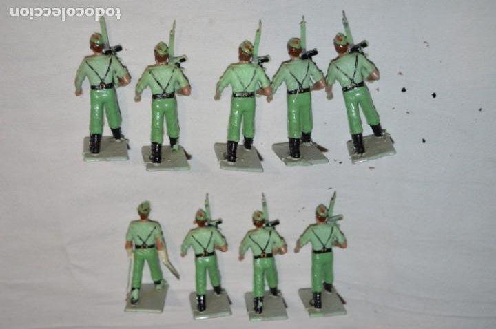 Figuras de Goma y PVC: LA LEGION - Antiguo/vintage - 9 Soldados desfilando - REAMSA y GOMARSA - ¡Mira fotos! - Foto 7 - 230052005