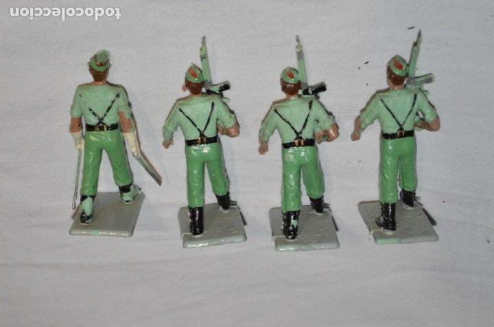 Figuras de Goma y PVC: LA LEGION - Antiguo/vintage - 9 Soldados desfilando - REAMSA y GOMARSA - ¡Mira fotos! - Foto 12 - 230052005