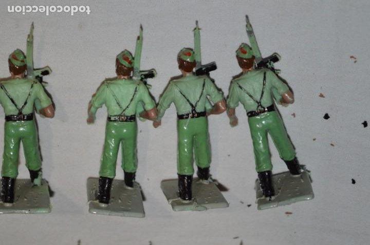 Figuras de Goma y PVC: LA LEGION - Antiguo/vintage - 9 Soldados desfilando - REAMSA y GOMARSA - ¡Mira fotos! - Foto 17 - 230052005