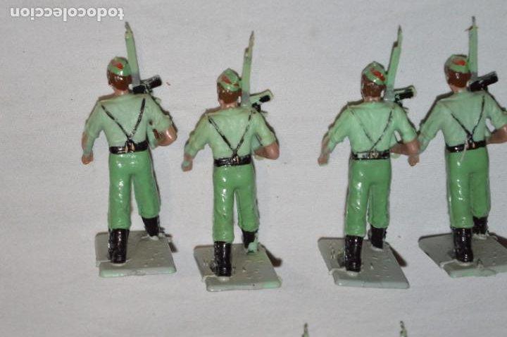 Figuras de Goma y PVC: LA LEGION - Antiguo/vintage - 9 Soldados desfilando - REAMSA y GOMARSA - ¡Mira fotos! - Foto 22 - 230052005
