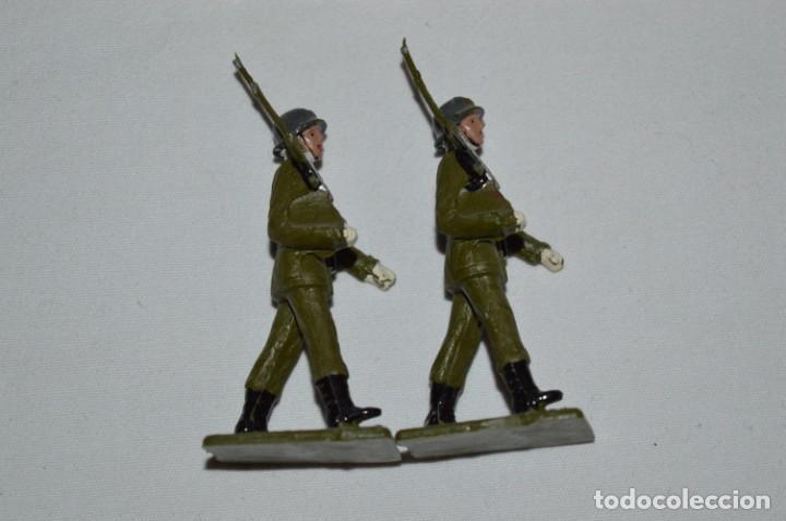 Figuras de Goma y PVC: INFANTERIA - Antiguo/vintage - 13 Soldados desfilando - REAMSA y GOMARSA - ¡Mira fotos! - Foto 22 - 230052240