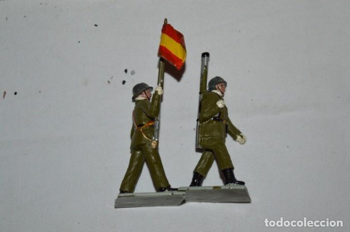 Figuras de Goma y PVC: INFANTERIA - Antiguo/vintage - 13 Soldados desfilando - REAMSA y GOMARSA - ¡Mira fotos! - Foto 26 - 230052240