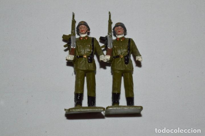 Figuras de Goma y PVC: INFANTERIA - Antiguo/vintage - 13 Soldados desfilando - REAMSA y GOMARSA - ¡Mira fotos! - Foto 23 - 230052240