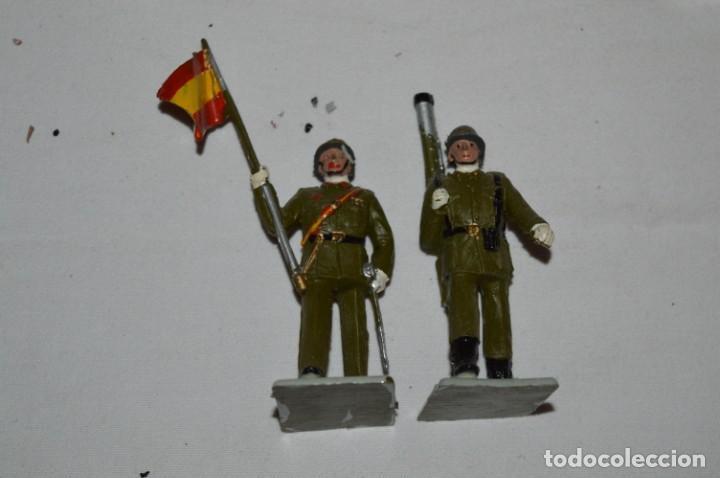 Figuras de Goma y PVC: INFANTERIA - Antiguo/vintage - 13 Soldados desfilando - REAMSA y GOMARSA - ¡Mira fotos! - Foto 27 - 230052240