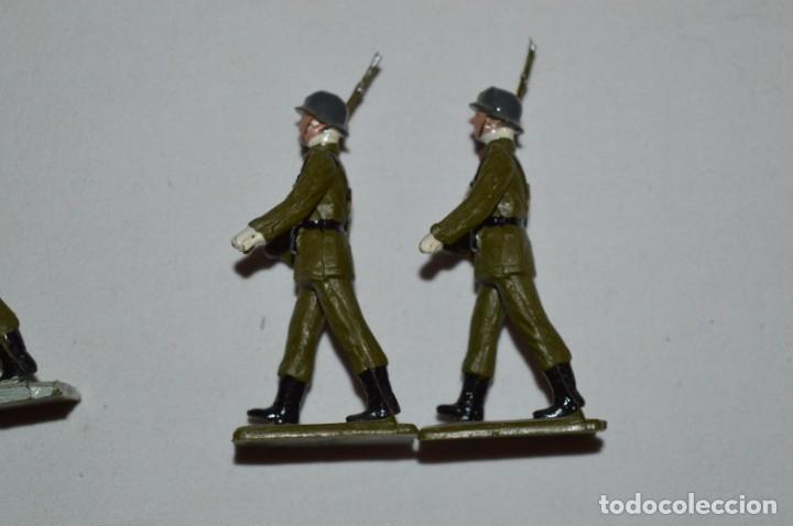 Figuras de Goma y PVC: INFANTERIA - Antiguo/vintage - 13 Soldados desfilando - REAMSA y GOMARSA - ¡Mira fotos! - Foto 24 - 230052240