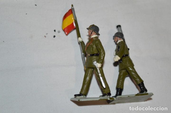 Figuras de Goma y PVC: INFANTERIA - Antiguo/vintage - 13 Soldados desfilando - REAMSA y GOMARSA - ¡Mira fotos! - Foto 28 - 230052240