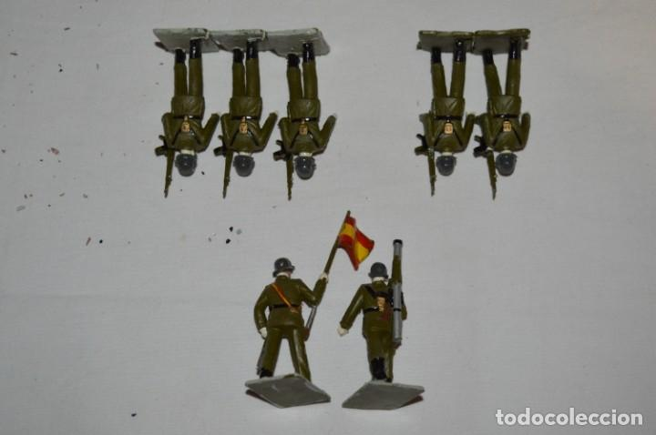Figuras de Goma y PVC: INFANTERIA - Antiguo/vintage - 13 Soldados desfilando - REAMSA y GOMARSA - ¡Mira fotos! - Foto 9 - 230052240