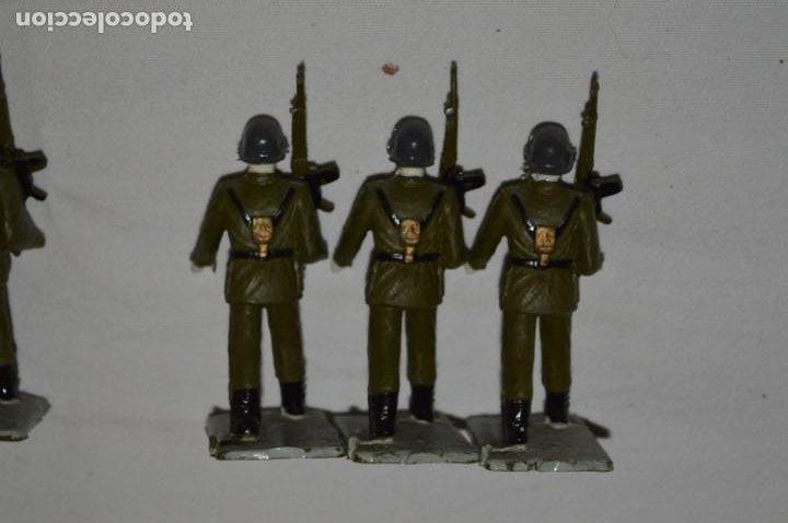 Figuras de Goma y PVC: INFANTERIA - Antiguo/vintage - 13 Soldados desfilando - REAMSA y GOMARSA - ¡Mira fotos! - Foto 13 - 230052240