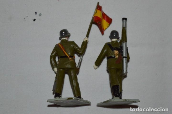 Figuras de Goma y PVC: INFANTERIA - Antiguo/vintage - 13 Soldados desfilando - REAMSA y GOMARSA - ¡Mira fotos! - Foto 29 - 230052240