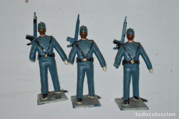 Figuras de Goma y PVC: EJERCITO DEL AIRE - Antiguo/vintage - 13 Soldados desfilando - REAMSA y GOMARSA - ¡Mira fotos! - Foto 9 - 230052315