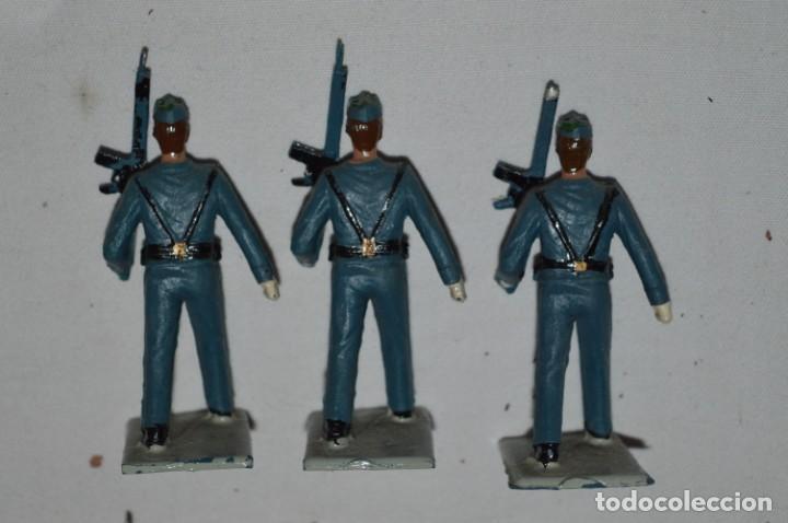 Figuras de Goma y PVC: EJERCITO DEL AIRE - Antiguo/vintage - 13 Soldados desfilando - REAMSA y GOMARSA - ¡Mira fotos! - Foto 17 - 230052315