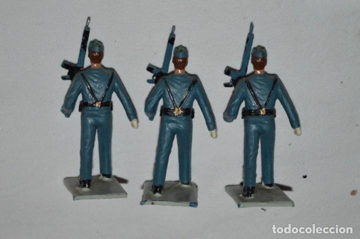 Figuras de Goma y PVC: EJERCITO DEL AIRE - Antiguo/vintage - 13 Soldados desfilando - REAMSA y GOMARSA - ¡Mira fotos! - Foto 21 - 230052315