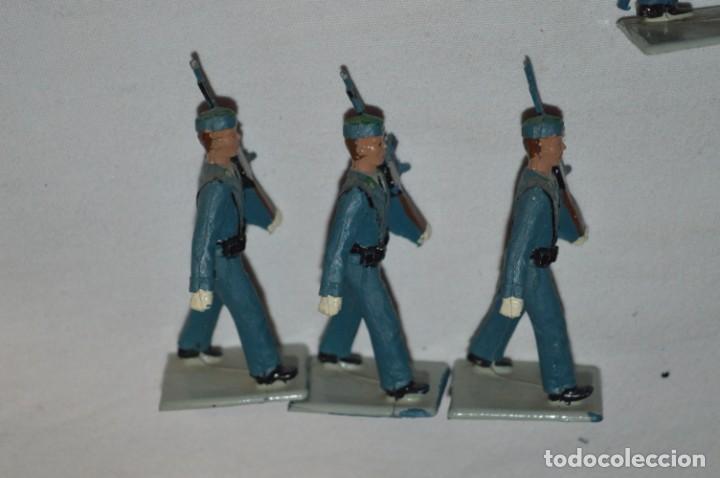 Figuras de Goma y PVC: EJERCITO DEL AIRE - Antiguo/vintage - 13 Soldados desfilando - REAMSA y GOMARSA - ¡Mira fotos! - Foto 22 - 230052315