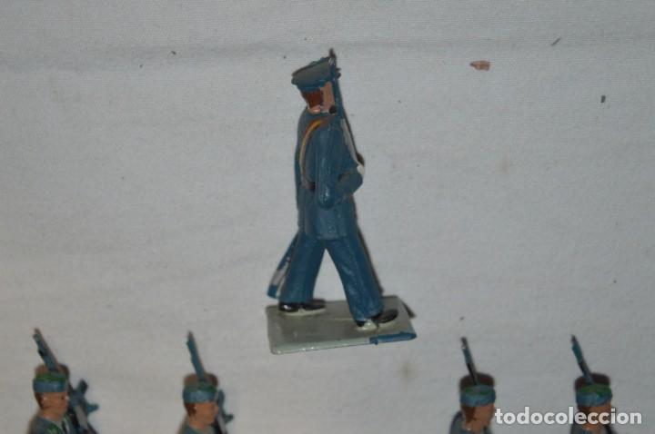 Figuras de Goma y PVC: EJERCITO DEL AIRE - Antiguo/vintage - 13 Soldados desfilando - REAMSA y GOMARSA - ¡Mira fotos! - Foto 26 - 230052315