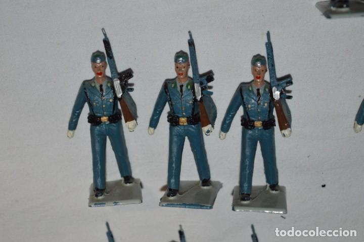 Figuras de Goma y PVC: EJERCITO DEL AIRE - Antiguo/vintage - 13 Soldados desfilando - REAMSA y GOMARSA - ¡Mira fotos! - Foto 23 - 230052315