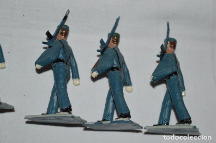 Figuras de Goma y PVC: EJERCITO DEL AIRE - Antiguo/vintage - 13 Soldados desfilando - REAMSA y GOMARSA - ¡Mira fotos! - Foto 12 - 230052315