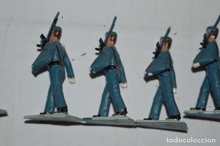 Figuras de Goma y PVC: EJERCITO DEL AIRE - Antiguo/vintage - 13 Soldados desfilando - REAMSA y GOMARSA - ¡Mira fotos! - Foto 20 - 230052315