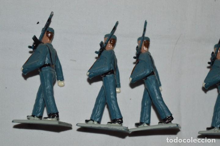 Figuras de Goma y PVC: EJERCITO DEL AIRE - Antiguo/vintage - 13 Soldados desfilando - REAMSA y GOMARSA - ¡Mira fotos! - Foto 24 - 230052315