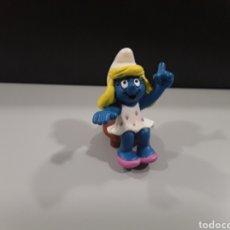 Figuras de Goma y PVC: FIGURA PVC LOS PITUFOS SCHLEICH PITUFINA. Lote 230239110