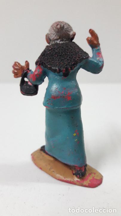 Figuras de Goma y PVC: LA ABUELA FILOMENA - FAMILIA ULISES . REALIZADA POR TEIXIDO . ORIGINAL AÑOS 50 EN GOMA - Foto 2 - 230262270