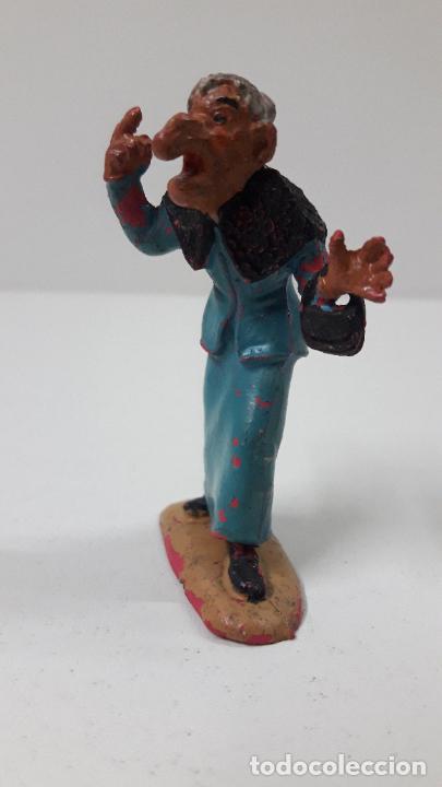 Figuras de Goma y PVC: LA ABUELA FILOMENA - FAMILIA ULISES . REALIZADA POR TEIXIDO . ORIGINAL AÑOS 50 EN GOMA - Foto 3 - 230262270