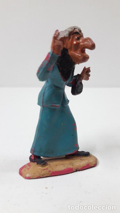 Figuras de Goma y PVC: LA ABUELA FILOMENA - FAMILIA ULISES . REALIZADA POR TEIXIDO . ORIGINAL AÑOS 50 EN GOMA - Foto 4 - 230262270