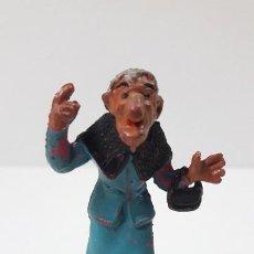 Figuras de Goma y PVC: LA ABUELA FILOMENA - FAMILIA ULISES . REALIZADA POR TEIXIDO . ORIGINAL AÑOS 50 EN GOMA. Lote 230262270
