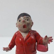Figuras de Goma y PVC: LA SEÑORA DOÑA SINFOROSA - FAMILIA ULISES . REALIZADA POR TEIXIDO . ORIGINAL AÑOS 50 EN GOMA. Lote 230263385