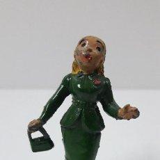 Figurines en Caoutchouc et PVC: LA HIJA MAYOR LOLIN - FAMILIA ULISES . REALIZADA POR TEIXIDO . ORIGINAL AÑOS 50 EN GOMA. Lote 230263790