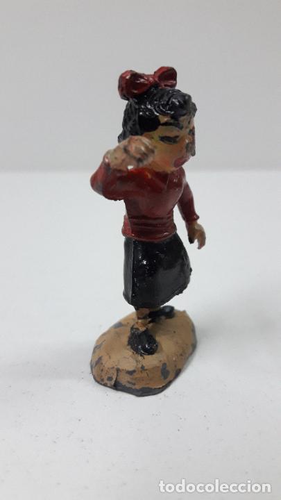 Figuras de Goma y PVC: LA HIJA PEQUEÑA MERCEDITAS - FAMILIA ULISES . REALIZADA POR TEIXIDO . ORIGINAL AÑOS 50 EN GOMA - Foto 3 - 230264195