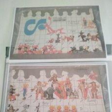Figuras de Goma y PVC: CATALOGO DE FOTOCOPIAS EN COLOR - DE COMICS SPAIN AÑOS 80 - B. Lote 254978635