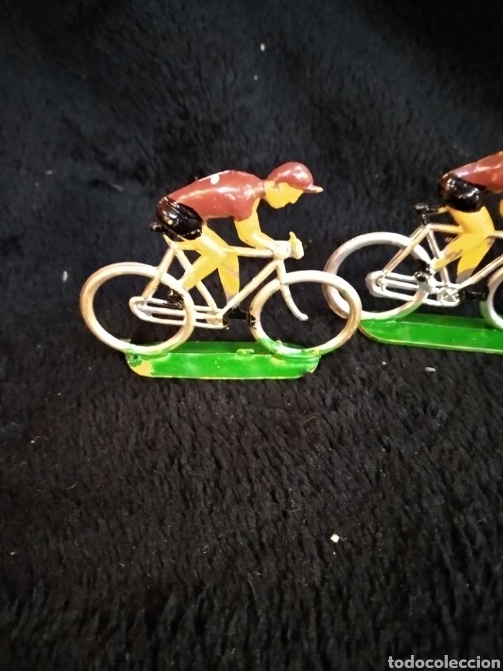 Figuras de Goma y PVC: 3 figuras ciclistas, Reamsa - Foto 3 - 230337695