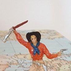 Figuras de Goma y PVC: JECSAN VAQUERO. Lote 230348845