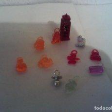 Figuras de Goma y PVC: LOTE COLGANTES AÑOS 80. Lote 230441195