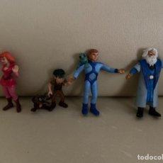 Figuras de Goma y PVC: PVC 4 FIGURAS CÓMICS SPAIN LA CORONA MÁGICA AÑOS 80 BE. Lote 230530560