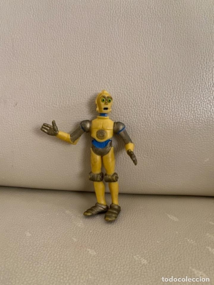 Figuras de Goma y PVC: Figura PVC C-3PO C3PO Comics Spain Star Wars Droids & Ewoks Muy Buen Estado Pocas Faltas de Dorado - Foto 2 - 230532970