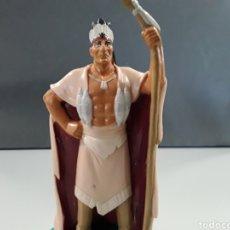 Figuras de Goma y PVC: FIGURA PVC WALT DISNEY POCAHONTAS JEFE INDIO POWHATAN. Lote 230567020