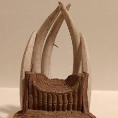 Figuras de Borracha e PVC: TRONO DE GOMA ÁFRICA SALVAJE ARCLA. Lote 230900490