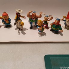 Figuras de Goma y PVC: LOTE FIGURAS PLASTICO. AÑOS 90. GOSCINNY-UDERZO, COMICS, SPAIN. AXTERIX, OBELIX, MAFALDA, LUCKY LUKE. Lote 230909770