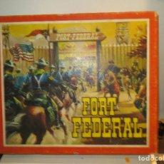 Figure di Gomma e PVC: FORT FEDERAL DE COMANSI EN SU CAJA MUY BUEN ESTADO,BARATO. Lote 231057450