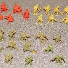 Figuras de Goma y PVC: LOTE 29 FIGURAS SOLDADOS DUNKIN. Lote 231076205